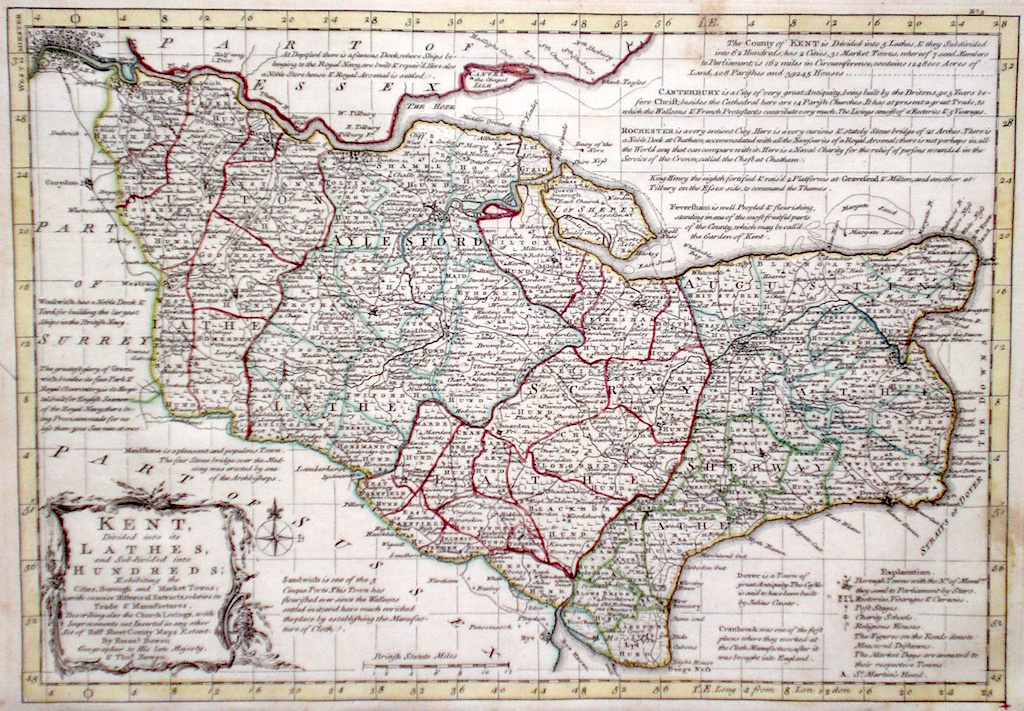 Antique Maps of Kent on kent station map, kent island map, dover england on map, devon england uk map, kent street map, leeds castle england on map, kent county map, new england united states map, faversham kent map, england ocean map, dover france map, new england weather map, scotland map, new england county map, stonehenge england location map, isle of sheppey map, york map, fscj kent campus building map, united kingdom map, england's map,