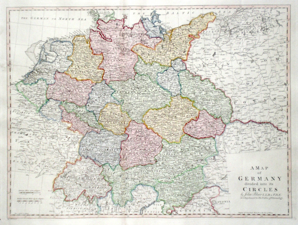 Map Of Germany Divided.Antique Maps Of Germany
