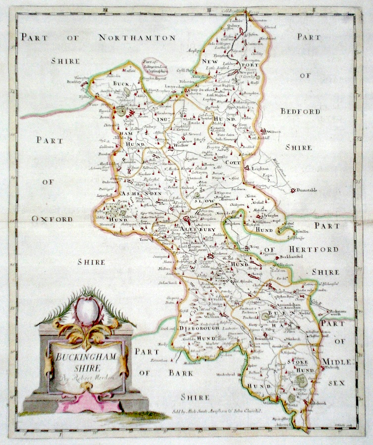 Antique Maps of Buckinghamshire