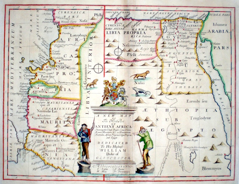 Map Of Africa 1700.Antique Maps Of Africa